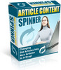 Article Content Spinner With MRR