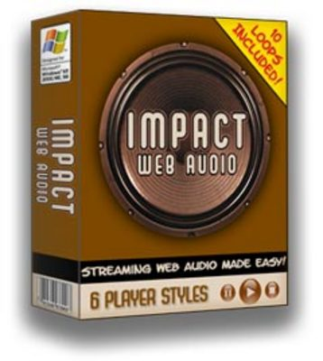 Product picture Impact web audio with Master Resale Rights