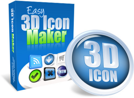Product picture Easy 3D Icon Maker