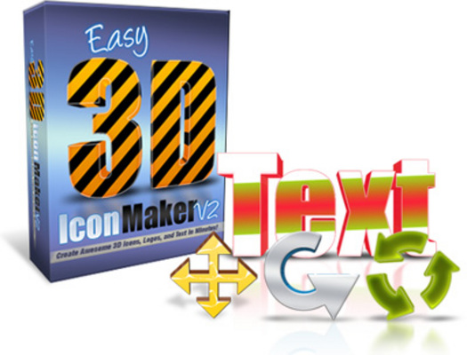 Product picture Easy 3D Icon Maker V2