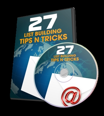 Product picture 27 List Building Tips and Tricks / With PLR
