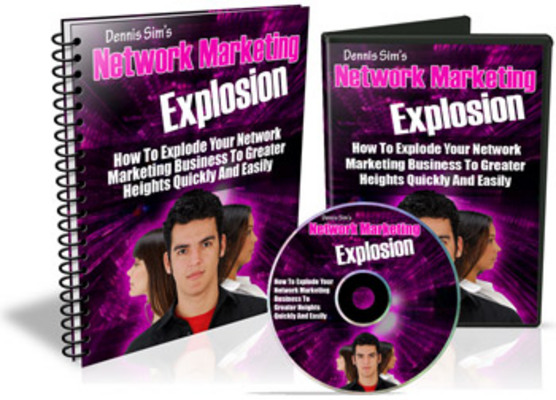 Product picture Network Marketing Explosion / With MRR