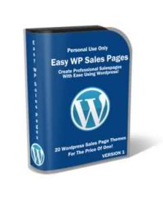 Product picture Easy Wordpress Sales Pack (PLR Package)